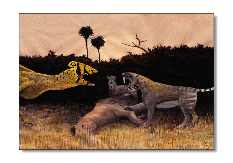 Palalophoraptor by Hyrotrioskjan