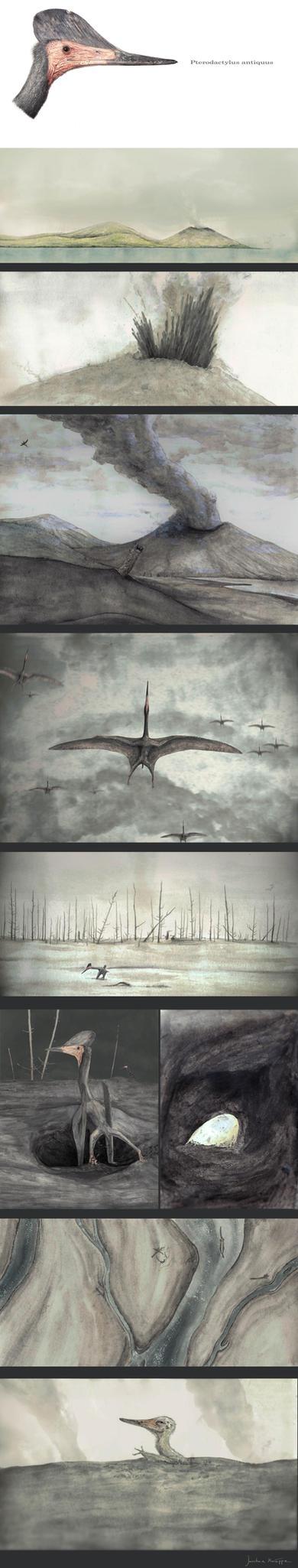Pterodactylus by Hyrotrioskjan