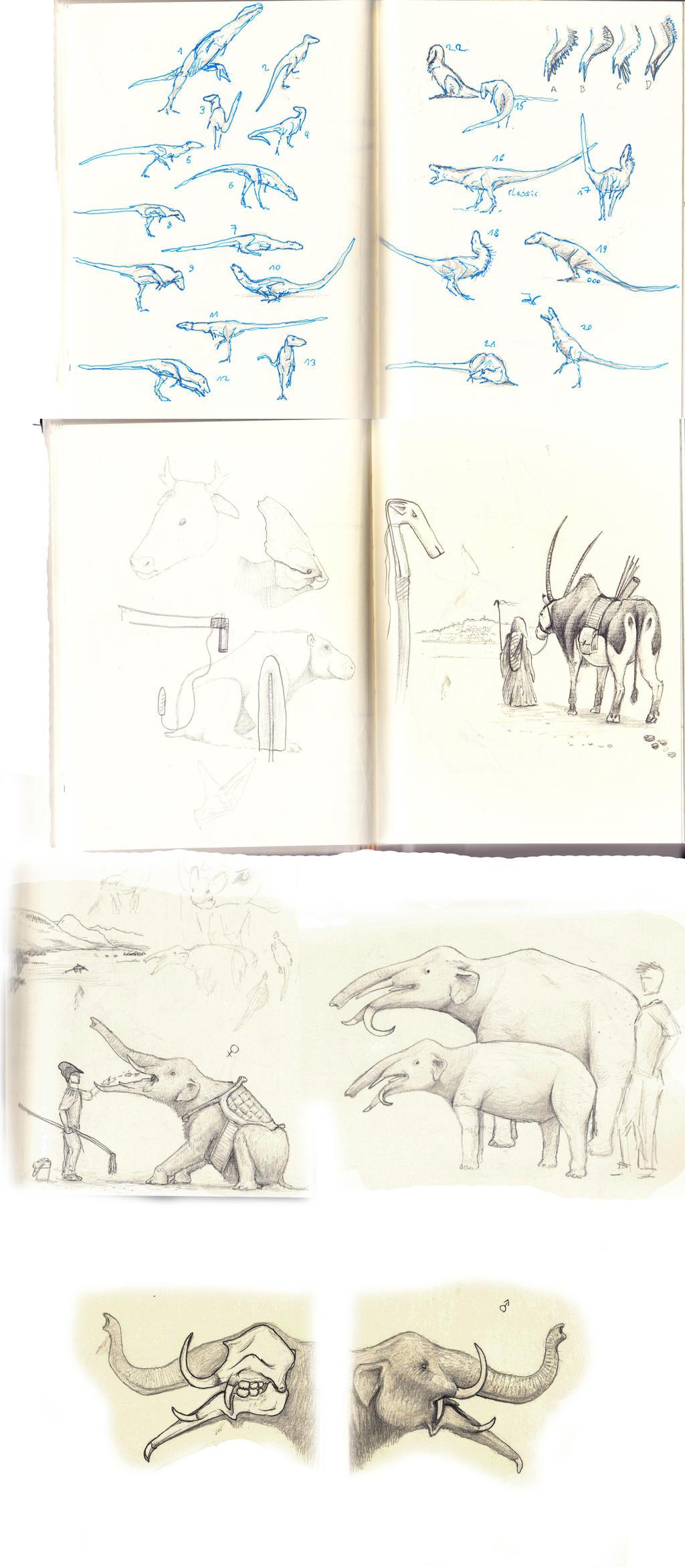 Stockholm Sketches by Hyrotrioskjan