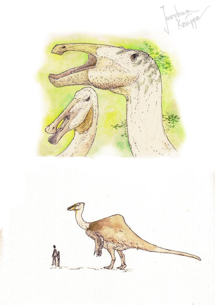Deinocheirus by Hyrotrioskjan