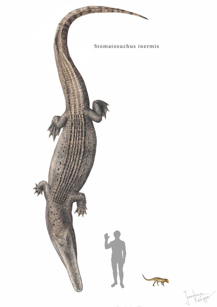 Stomatosuchus by Hyrotrioskjan