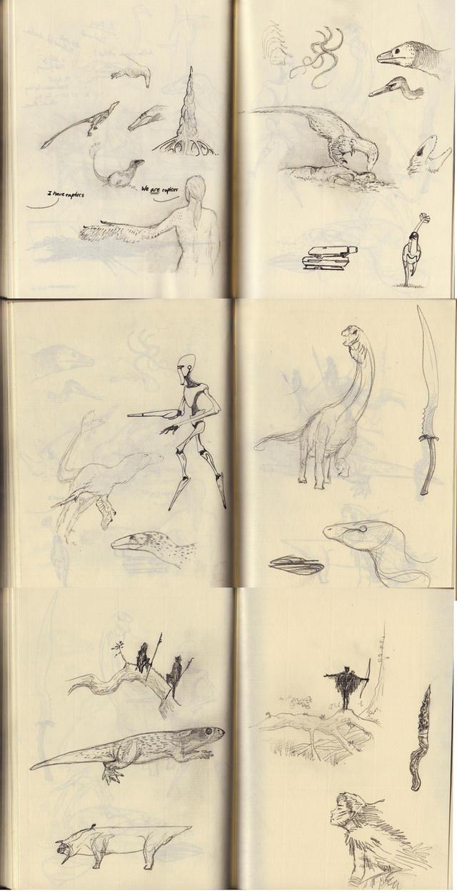 Day 5 sketch challenge by Hyrotrioskjan