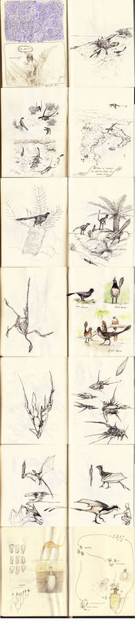 Sketches from Sketchbook No. 14 and 15