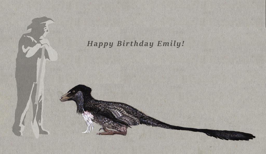 Deinonychus for Emily by Hyrotrioskjan