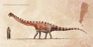 Sarmientosaurus by Hyrotrioskjan