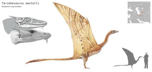 Tarimhesaurus mantelli by Hyrotrioskjan