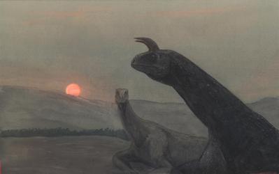 Shringasaurus by Hyrotrioskjan