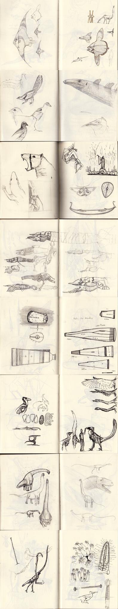 Sketchbook 23 by Hyrotrioskjan