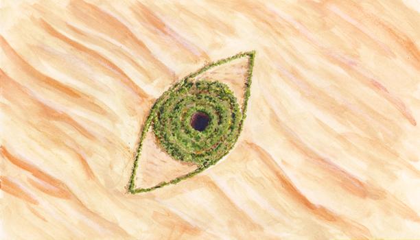 Eyes of the desert