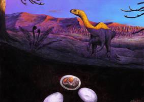 Lufengosaurus eggs
