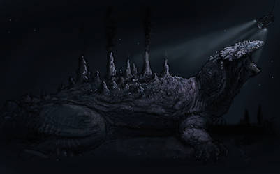 Godzilla, a version that I would like by Hyrotrioskjan