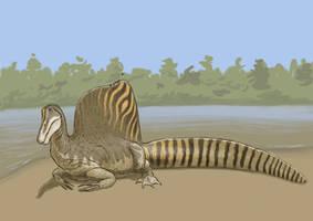 The new Spinosaurus