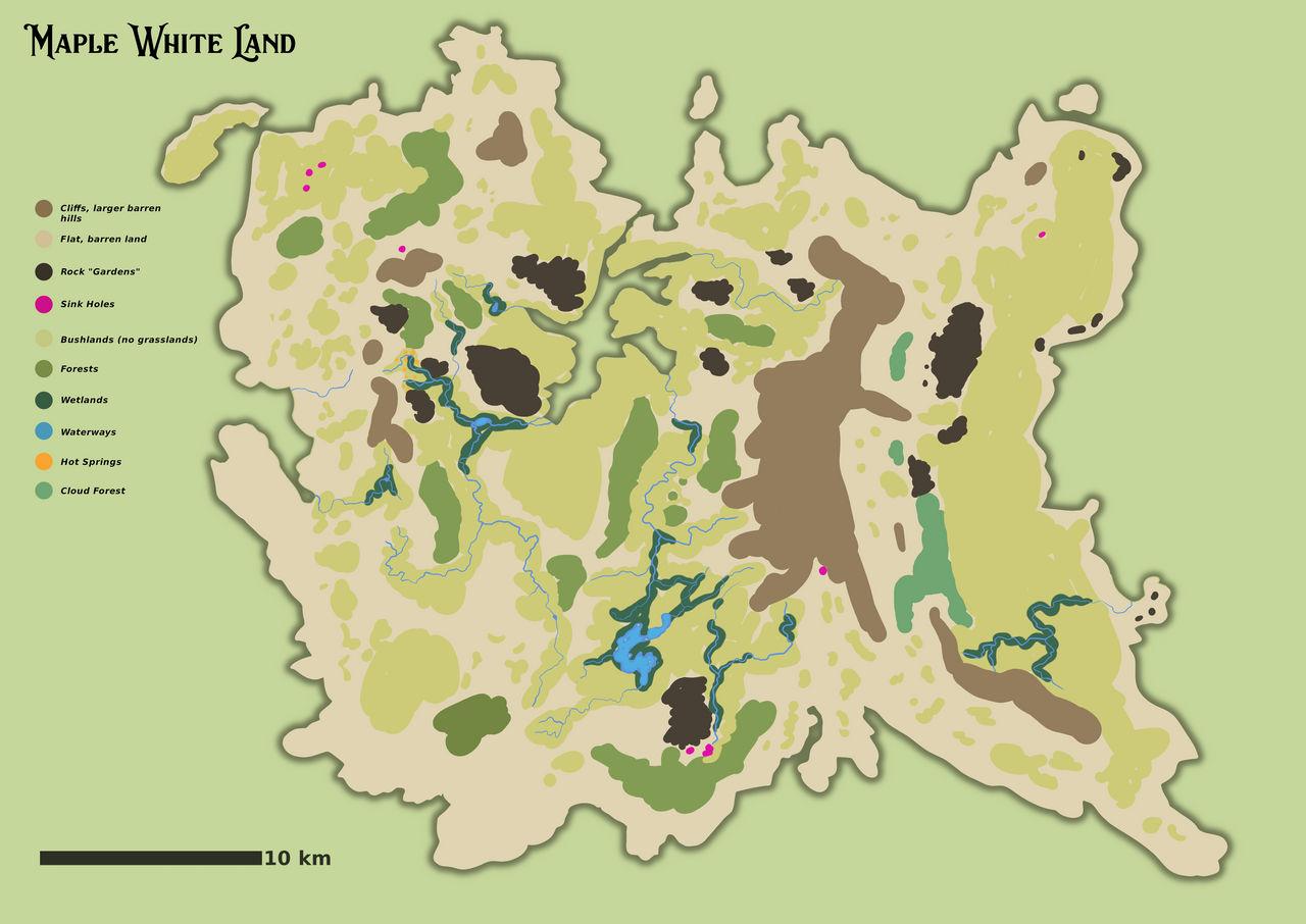 Lost World habitat map