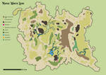 Lost World habitat map