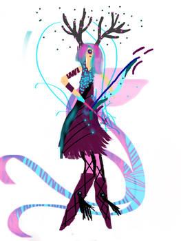 OC- Cyla the one eye enchanted archer