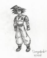 Goku [penvilwork] by Dragonfunk7