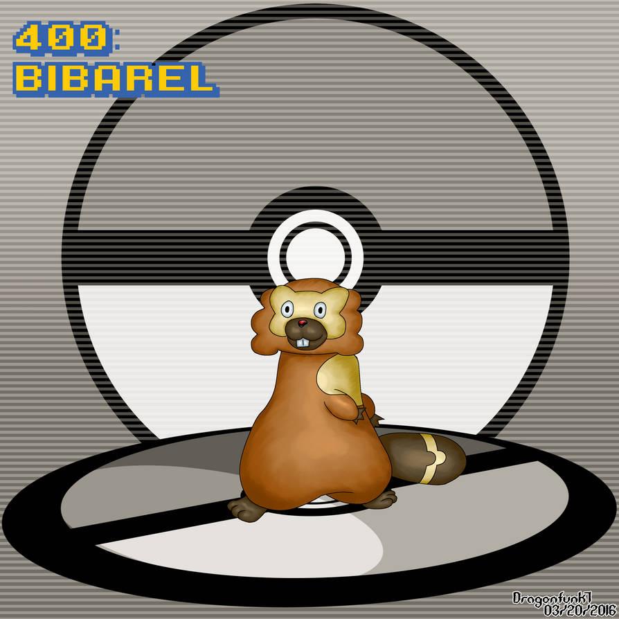 #400 Bibarel by Dragonfunk7