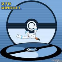 #278 Wingull by Dragonfunk7