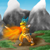 Thumbnail - The Elder Scrolls V:Skyrim by Dragonfunk7