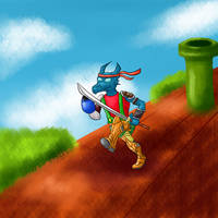 Thumbnail - Super Mario Bros. Crossover by Dragonfunk7