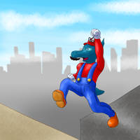 Thumbnail - Super Mario Odyssey by Dragonfunk7