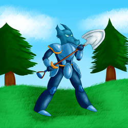 Thumbnail - Shovel Knight by Dragonfunk7