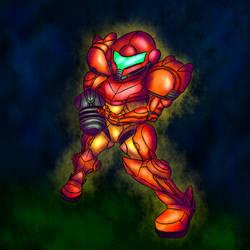 Super Metroid - Samus
