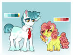 Adoptable pony and filly (CLOSED)