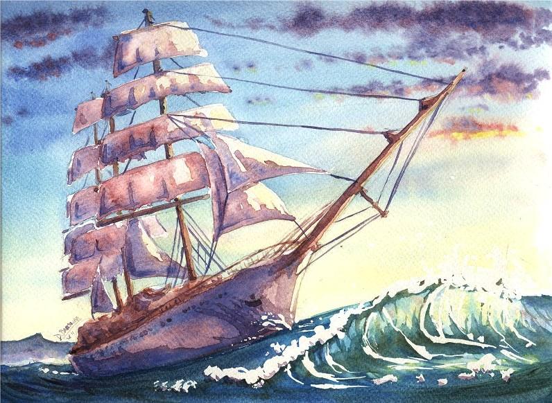 Sailing Ship - commission
