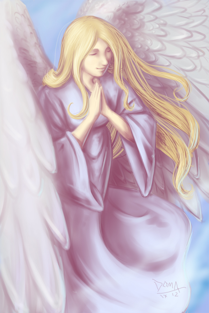 Lavender Angel by doma22