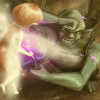 David and Goliath - Fantasy