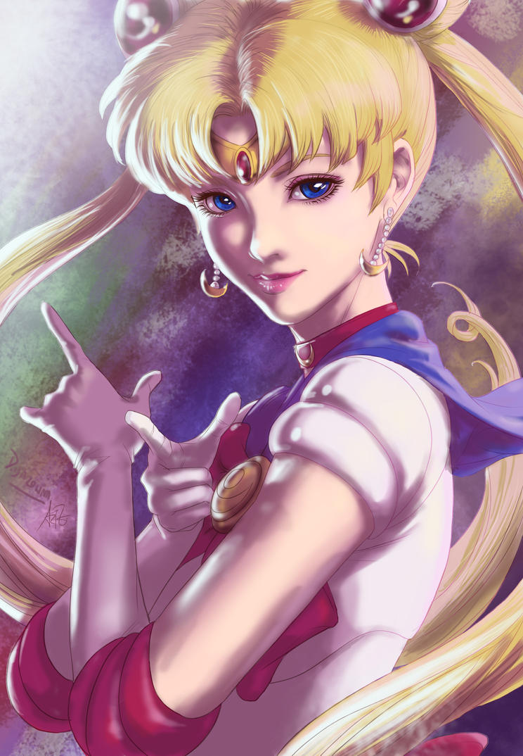 Sailor Moon by doma22