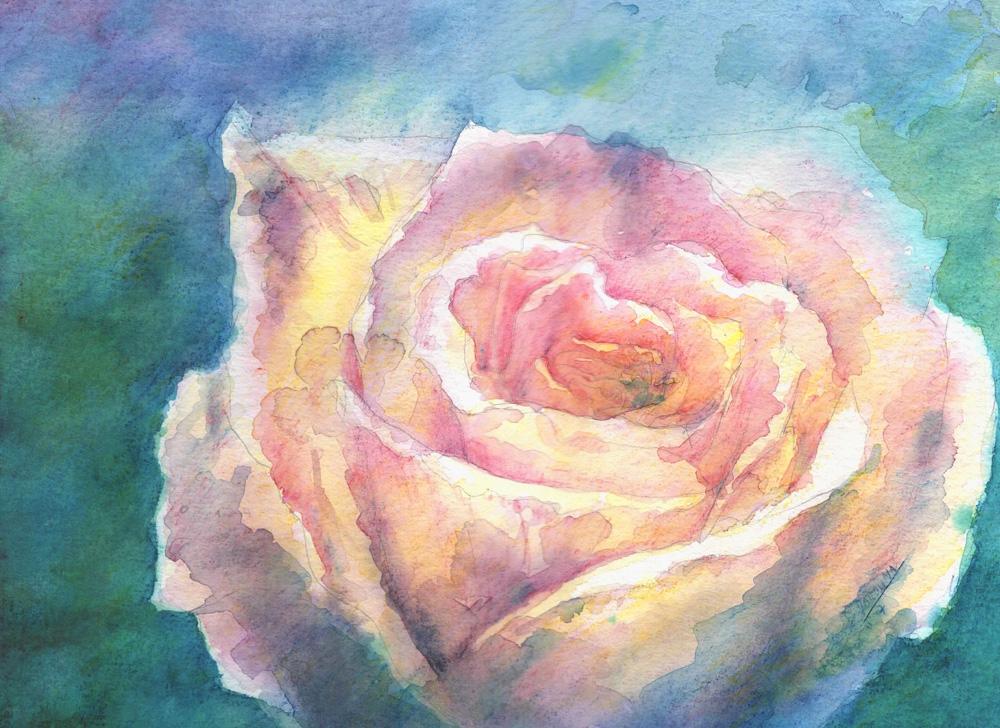 Pencil Rose