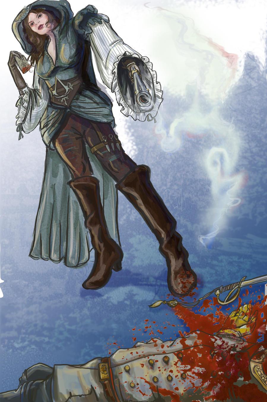 Civil War Assassin by Ayaeqlarune
