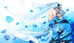 BB-........blue rose by NiwaRIKU89