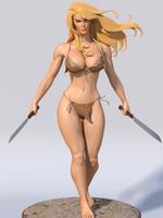 Shanna The She-Devil 2015 by Buddy-Busen