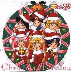 Sailor Moon Christmas CD Cover by Supermutant2099