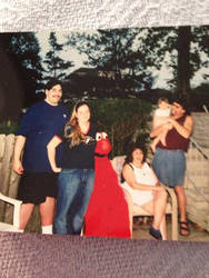 Me, my family, and emlo by Supermutant2099