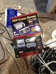 My NES and SNES Classic by Supermutant2099