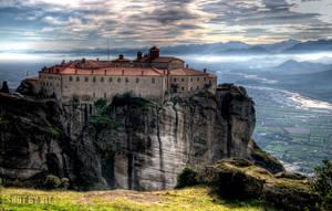 St. Stephan Monastery Meteora by Piddling