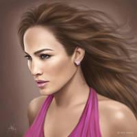 Jennifer Lopez by artistiq-me