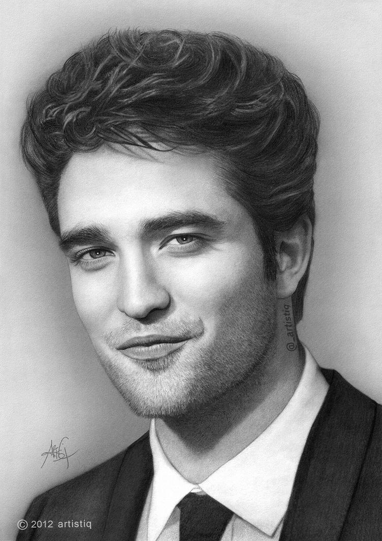 Robert Pattinson by artistiq-me
