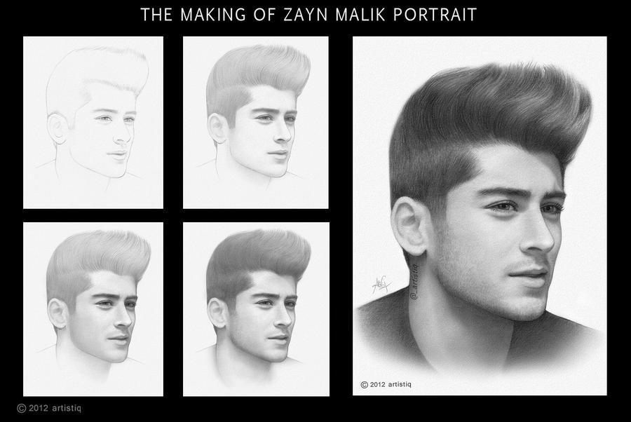 Zayn Malik by artistiq-me