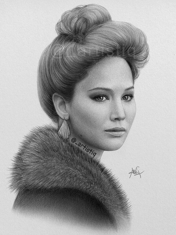 Jennifer Lawrence by artistiq-me