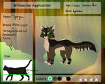 Tigerpaw Application| W-M by ScribbledTale