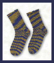Starry Night socks -for sale-