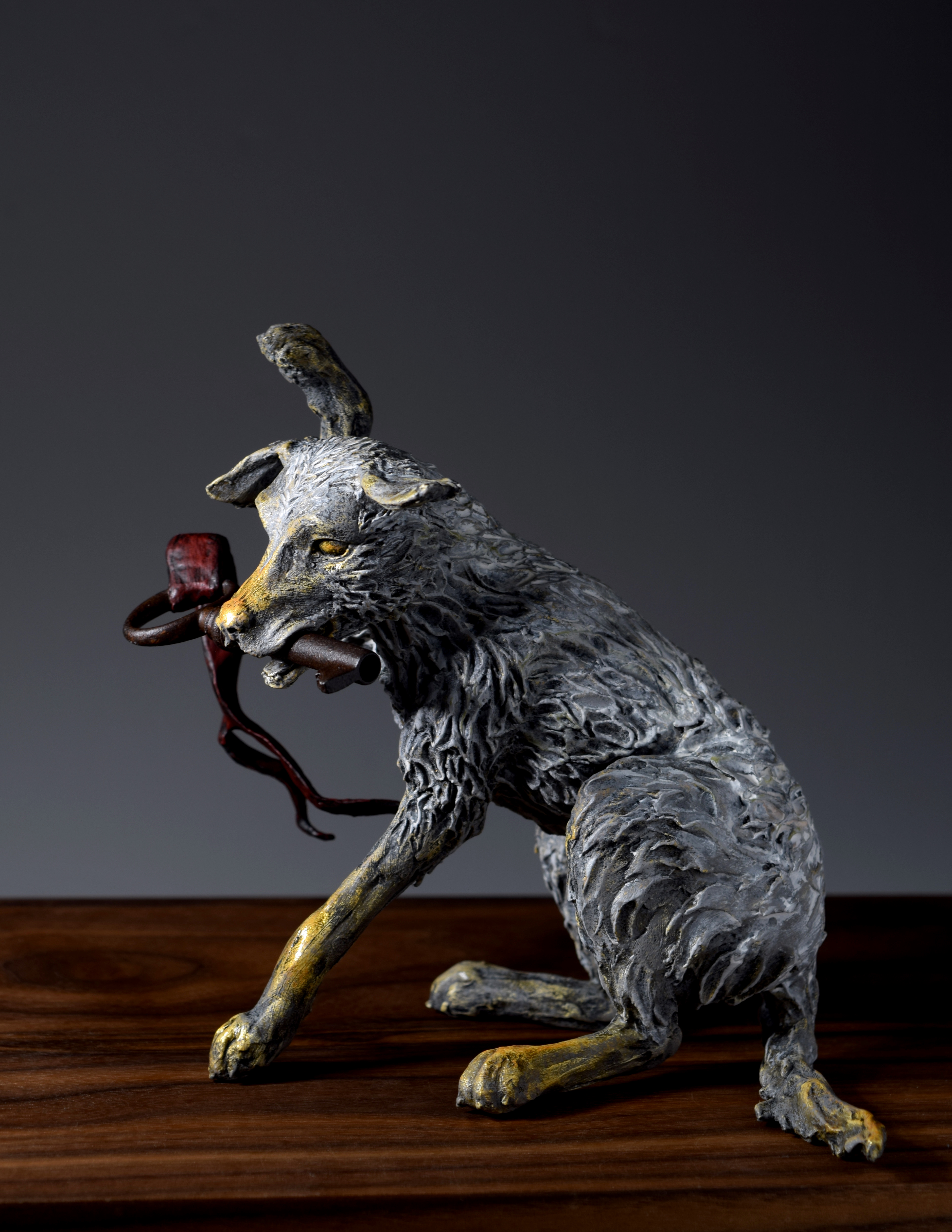 Of Love and Loyalty - dog sculpture by PostmodernEquestrian