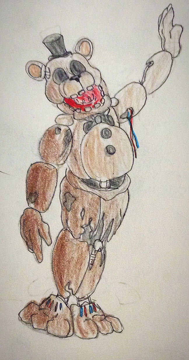 Withered Freddy by Parallelopussy18 on DeviantArt