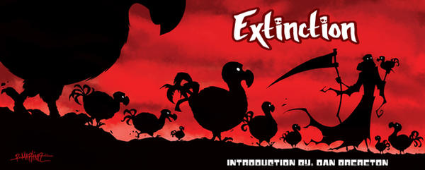 EXTINCTION COVER by RM73