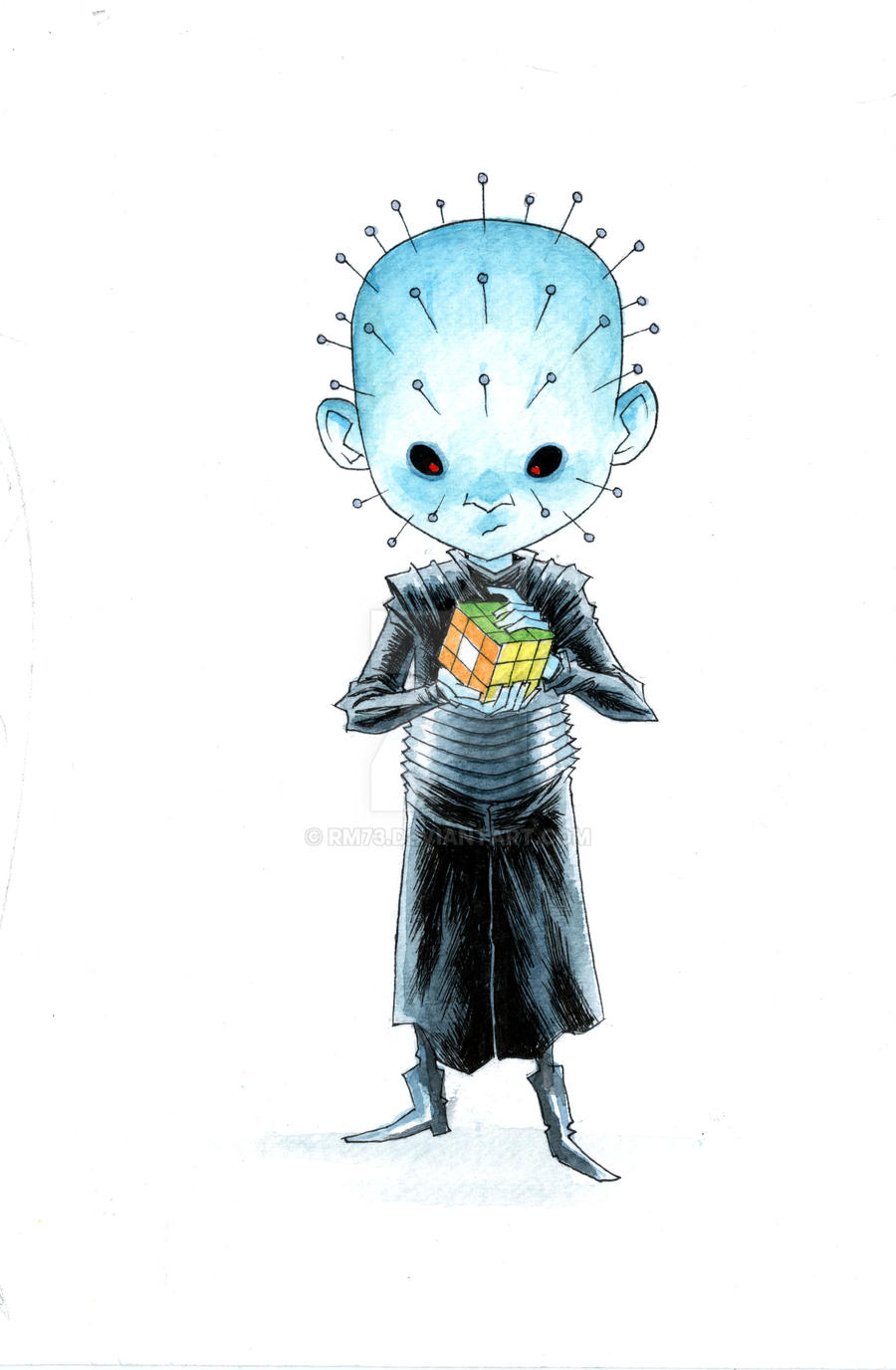 LITTLE PIN HEAD by RM73